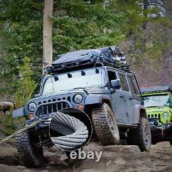 10000LBS Electric Winch Waterproof Truck Trailer 98.5FT Steel Rope Off-Road 4WD