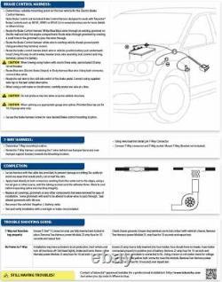 11-20 Dodge Grand Caravan Town & Country Trailer Wiring 7-Way RV Round Connector