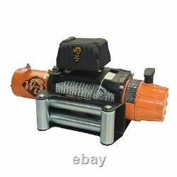 12000LB Electric Recovery Winch Wireless with Roller Fairlead for Truck Off-Road