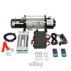 12000lbs 12v Electric Winch for Truck Trailer SUV Wireless Remote with warranty