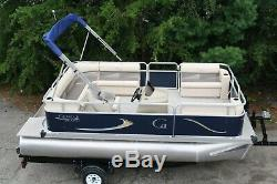 16 Grand Island with 30 four stroke and bunk trailer