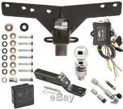 2000-2006 BMW X5 TRAILER TOW HITCH PKG DELUXE With WIRING + HITCH LOCKS & COVER