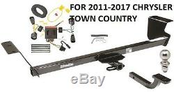 2011-2017 Chrysler Town Country Complete Class II Trailer Hitch Kit By Draw-tite