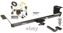 2011-2020 Dodge Grand Caravan Complete Class II Trailer Hitch Kit By Draw-tite