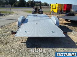 2020 kwik load 7 x 18 deluxe carhauler trailer speed loader roll back tilt 7x18