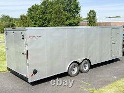 2021 Wells Cargo 9,990lb GVWR FastTrac Deluxe Enclosed Motorcycle Trailer 8.5x24