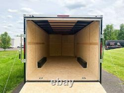2021 Wells Cargo FastTrac Deluxe 9,990lb GVWR Enclosed Motorcycle 8.5x20 Trailer