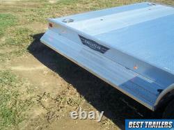 2022 Aluma 8220 executive series car hauler deluxe aluminum 7 x 20 w enlcosed