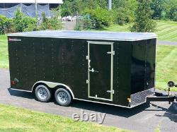 2022 Wells Cargo FastTrac Deluxe Enclosed Motorcycle Landscape Trailer 8.5x16