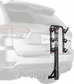 3 Bike Rack Deluxe SUV Car Truck Trailer Hitch Mount 1.25 to 2 Receiver Locks