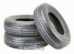 3 Premium Grand Ride Trailer Tires ST 205 75R14 / 8PR Load Range D Steel Belted