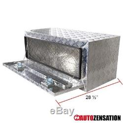 36 Heavy Duty Aluminum Tool Box Truck Storage Trunk Trailer Flat Bed Underbody
