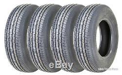 4 New Grand Ride Premium Trailer Tire ST175/80R13 Radial 8PR Load Range D -11012