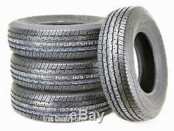4 Premium Grand Ride Trailer Tires ST205 75R14 / 8PR Load Range D Steel Belted