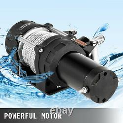 4500LB Electric Winch 12V Trailer Steel Cable Off Road For Boat Truck Pickup SUV