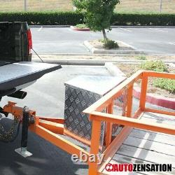 49 Heavy Duty Aluminum Tool Box Truck Pickup Hinge Trunk Trailer Storage