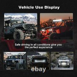 50INCH 288W LED Light Bar Combo+22 120W+4 60W For Jeep Wrangler JK YJ CJ LJ TJ