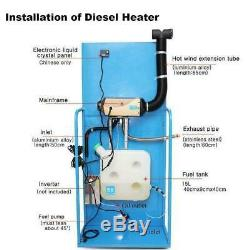 5KW 12V Diesel Air Heater Thermostat For Truck Car Boat Trailer RV Motorhome