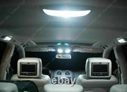 5x High Power White Festoon T10 BA9S LED 36-SMD Panel Interior Dome Map Lights