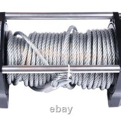 9500LBS Electric Recovery Winch Towing Truck Trailer Steel Cable Off Road 12V US