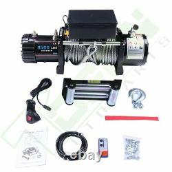 9500LBS Electric Winch Towing Truck Trailer Steel Cable Off Road For Jeep SUV