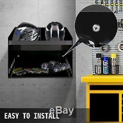 Aluminum Deluxe Helmet Bay Storage Cabinet Enclosed Car Race Trailer Shop Garage
