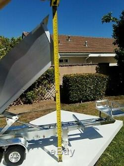 Aluminum Electric Lift Dump Bed Trailer for Tamiya R/C 1/14 King Grand Hauler