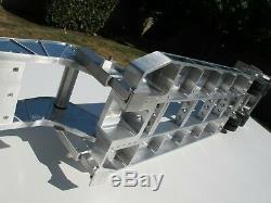 Aluminum Gooseneck Low Boy Rider Deck Trailer Tamiya R/C 1/14 King Grand Hauler