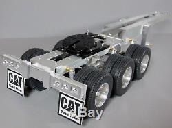 Aluminum Tamiya 1/14 R/C Semi Tractor Trailer 3 Axles Dolly 5th wheel Coupling