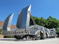 Aluminum Trailer for Tamiya RC Toy 1/14 King Grand Knight Hauler Cascadia Man