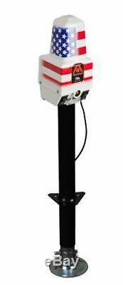 Atwood 80931 White Deluxe Power Jack 2500 lb. Capacity RV Camper Trailer