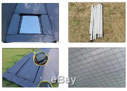 Awning Roof Top SUV Shelter Car Tent Trailer Camper Outdoor Camping Canopy WithBag