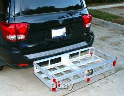 Cargo Carrier Trailer Hitch Lightweight Auto Basket Rack Luggage Receiver Mount