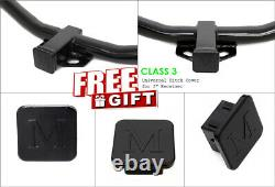 Class 3 Assembly Trailer Hitch Fit 2011-2020 Dodge Durango Jeep Grand Cherokee