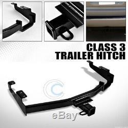 Class 3 Trailer Hitch Receiver Bumper Tow Fits 2 96-04-07 Dodge Caravan/grand