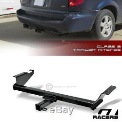 Class 3 Trailer Hitch Receiver Rear Bumper Tow 2 For 2008-2016 Town & Country