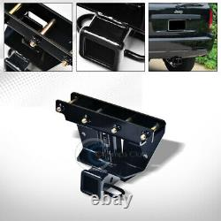 Class 3 Trailer Hitch Receiver Rear Bumper Tow Kit 2 For 05-10 Grand Cherokee