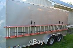 Combo! Toughrak Deluxe Side Mount Trailer Ladder Rack And Wall Ladder Rack