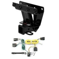 Curt Class 3 Trailer Hitch 2 Tow Receiver & Wiring for Jeep Grand Cherokee