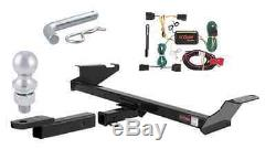 Curt Class 3 Trailer Hitch Tow Package for Town & Country / Grand Caravan