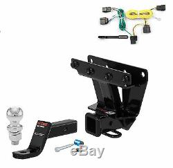 Curt Class 3 Trailer Hitch Tow Package with 1-7/8 Ball for Jeep Grand Cherokee