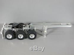 Custom Aluminum 3 Axles Dolly 5th wheel for Tamiya 1/14 R/C Semi Tractor Trailer