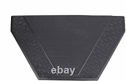 Dee Zee DZ91717P Poly Triangle Trailer Storage Box Black New Free Shipping USA