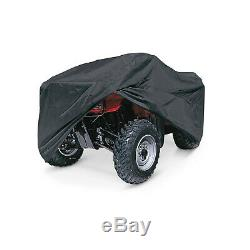 Deluxe Expandable Trailerable ATV Quad Storage Cover fits 1 or 2-up Quad ATVs