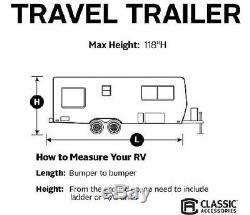 Deluxe PolyPro III Travel Trailer RV Cover Fit 35-38' foot