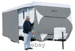 Deluxe PolyPro III Travel Trailer RV Cover Fits 22-24 Foot