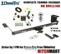 FITS 2008-2010 GRAND CARAVAN CLASS 2 TRAILER HITCH PACKAGE with 2 BALL 364550