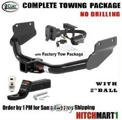 FITS 2014-2017 JEEP GRAND CHEROKEE CLASS 3 TRAILER HITCH PACKAGE w 2 BALL 13182