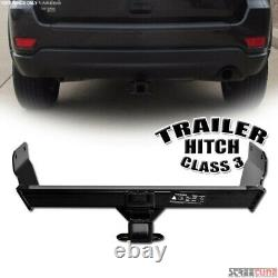 For 11-17 Grand Cherokee Class 3/Iii Trailer Hitch Receiver Rear Tube Towing Kit