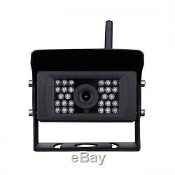 For Truck Trailer 100FT iOS Android 700TVL 28LED Digital Wireless Backup Camera